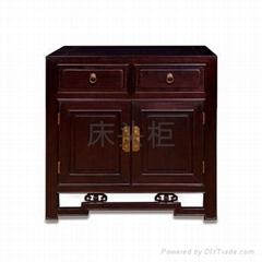 红木家具床头柜
