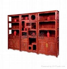 古典红木家具多宝格