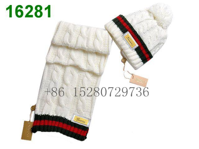 Gucci Sscarf &caps suit Knitted caps Louis Vuitton Cobulte Beanie scarf caps  6