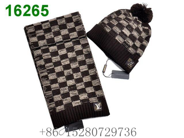 Gucci Sscarf &caps suit Knitted caps Louis Vuitton Cobulte Beanie scarf caps  7