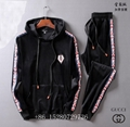 Wholesale Newest Gucci Tracksuit Gucci suit Wool suit Gucci pant Gucci hoody  1