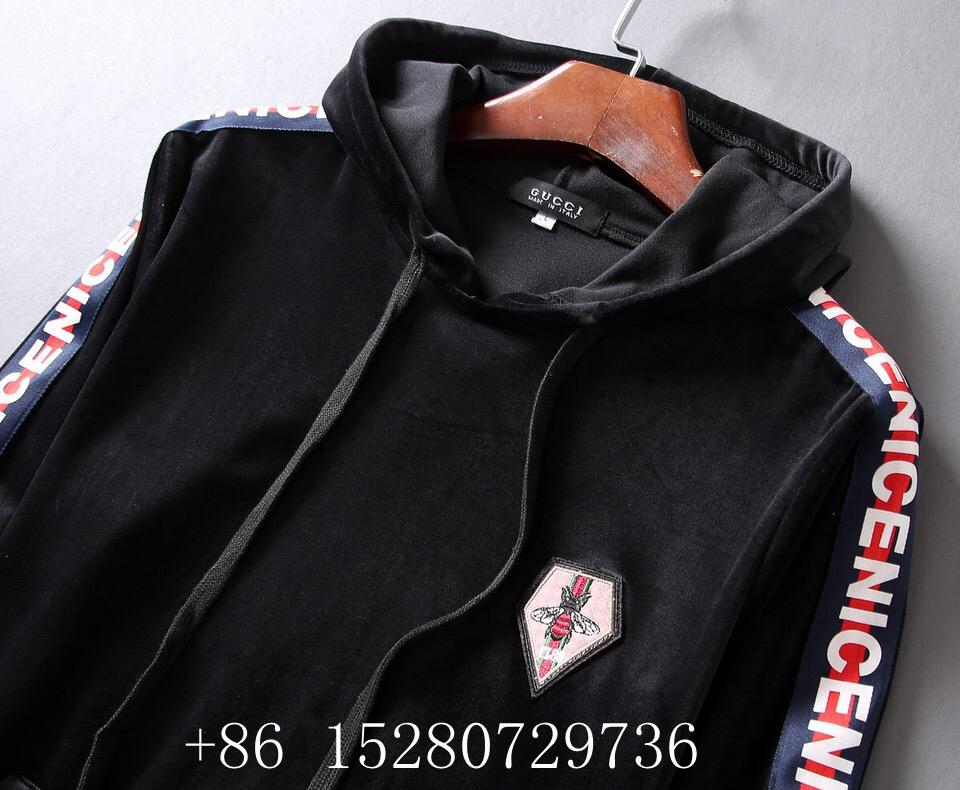 Wholesale Newest Gucci Tracksuit Gucci suit Wool suit Gucci pant Gucci hoody  3