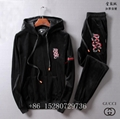 Wholesale Newest Gucci Tracksuit Gucci suit Wool suit Gucci pant Gucci hoody  9
