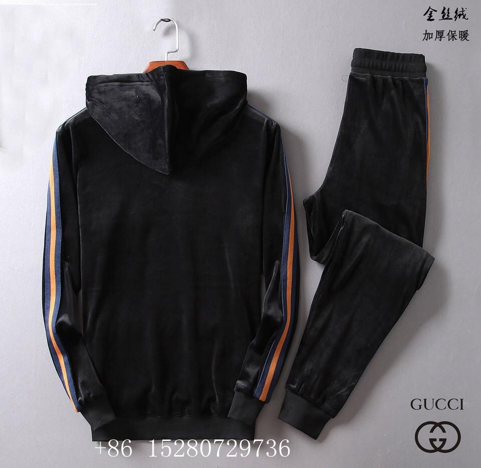 Wholesale Newest Gucci Tracksuit Gucci suit Wool suit Gucci pant Gucci hoody  6