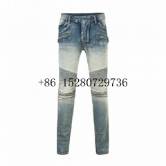 Wholesale New Men's Balmain jeans Desiginer jeans Cotton jean TR jeans CK jeans