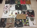 Wholesale Men Gucci Head Logo T-shirt Gucci Cotton Wolf snake Washed T-shirts  1