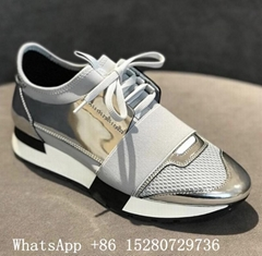 Women Balenciaga Race Runners sneaker shoes Balenciaga leather shoes original