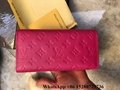 Wholesale Louis Vuitton wallet Monogram Canvas wallet LV Damier Ebene wallet