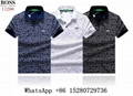 New Hugo Boss Italian Cotton Polo Shirt