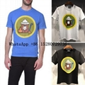 Men's Dsquared2 Printed Cotton T-shirts