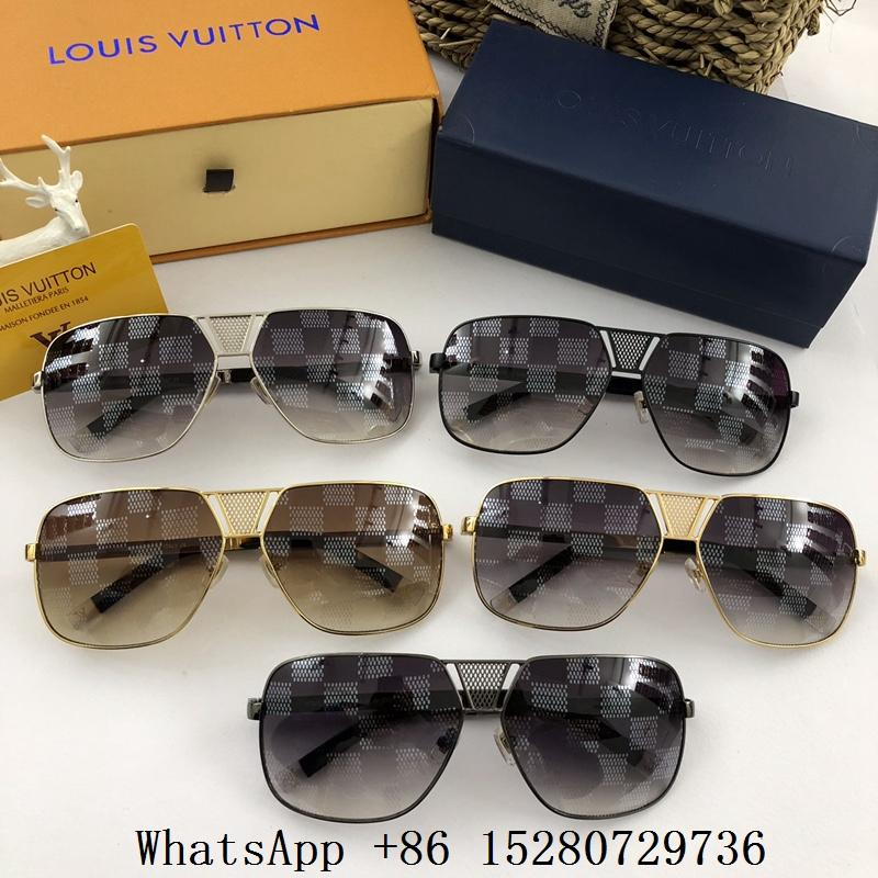dec0b59b15 Wholesale High qualily Men Louis Vuitton LV sunglasses LV Aviator eyewear  cheap ...