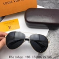 Wholesale High qualily Men Louis Vuitton LV sunglasses LV Aviator eyewear cheap