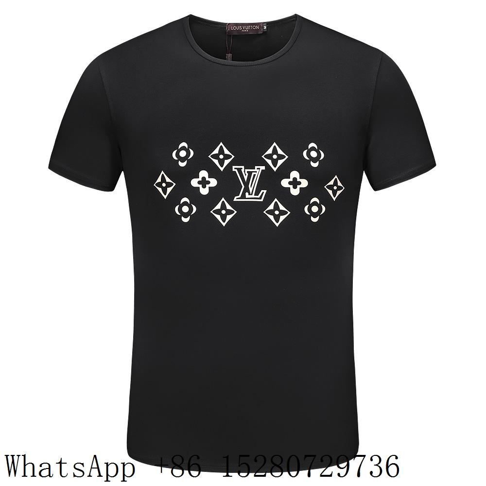 f1bcba5814f3 ... Louis Vuitton Short Sleeve T-shirts LV Mens Check T-shirts Supreme LV T