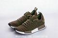 Women's Adidas NMD R1 Primeknit  STLT CORE BLACKRED running shoes wholesale