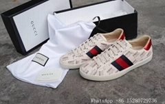 Gucci Men's LOW-TOP Sneaker Gucci GG SUPREME PLATFORM TRAINER Shoes wholesale
