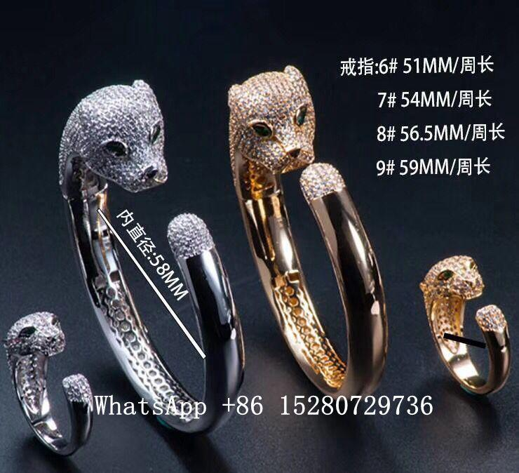wholesale Cartier Bracelet Cartier Ring Cariter Necklace Luxury jewelry Cariter 6