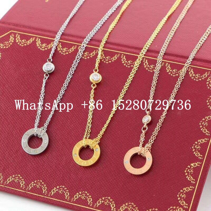 wholesale Cartier Bracelet Cartier Ring Cariter Necklace Luxury jewelry Cariter 3