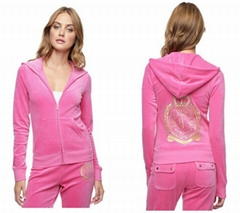 Wholesale Women's Juicy Tracksuit Juicy Couture Velour Juicy Logo Robertson