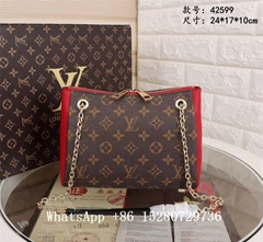 Louis Vuitton Handbags Trunk CLUTCH Monogram Petite Malle women bag