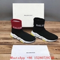 New Balenciaga Speed Trainer Knit Socks BALENCIAGA Triple S mens sneaker RED