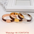 Wholesale Women LV Leather NANO MONOGRAM BRACELET  LOUIS VUITTON LUXURY BRACELET