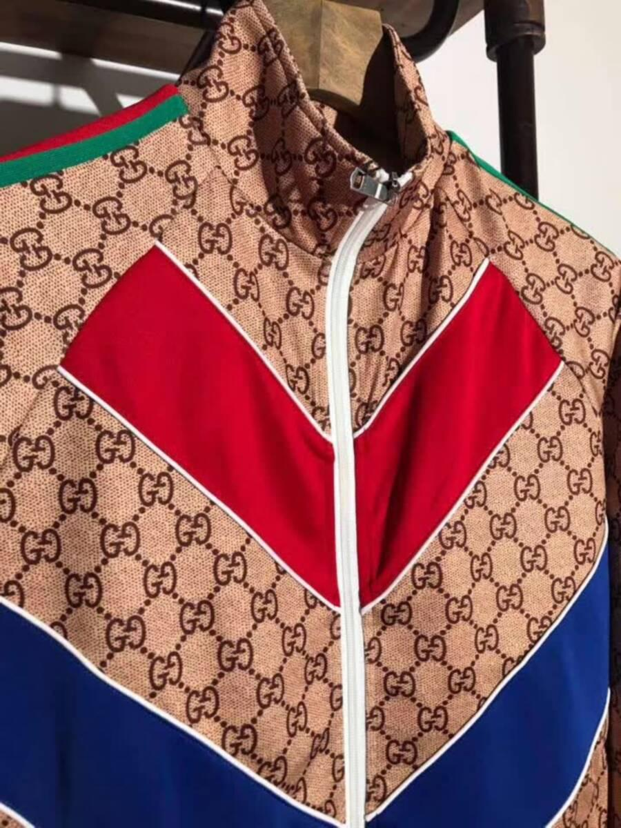 Gucci GG Jacquard cotton Jacket Mens Gucci Casual Jackets Winter coat for sale   6