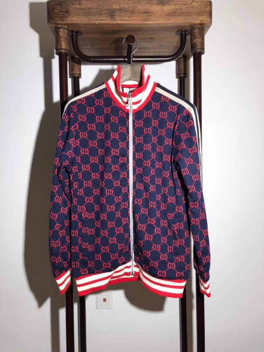 Gucci GG Jacquard cotton Jacket Mens Gucci Casual Jackets Winter coat for sale   8