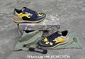 Valentino sneaker Garavani Camo Rockstud runner shoes leather Men's Rockrunner   1