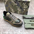 Valentino sneaker Garavani Camo Rockstud runner shoes leather Men's Rockrunner   5