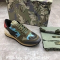 Valentino sneaker Garavani Camo Rockstud runner shoes leather Men's Rockrunner   6