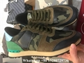 Valentino sneaker Garavani Camo Rockstud runner shoes leather Men's Rockrunner   14