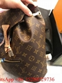 Women LV Monogrammed Clapton Mini Backpack Palm Springs leather backpack hotsale