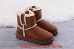 Wholesale UGG Women W Mini Bailey Button II 3352 5825 UGG Ultra sheepskin boots