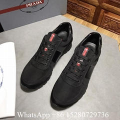 Prada shoes Prada Mens sneaker Running Match Race Nylon Tech cheap outlet sale