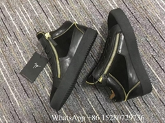 Giuseppe Zanotti kriss velvet patent leather sneaker london high-top boots sale