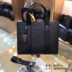 Gucci GG Supreme leather
