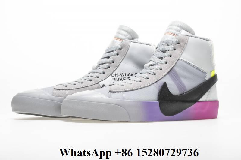 size 40 6b4f0 f8c25 High top OW OFF-WHITE X NIKE BLAZER MID THE QUEEN SNEAKER ...