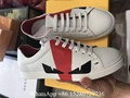 Wholesale Fendi Monster leather Low Top sneaekr mens designer Fendi white