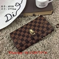 2019 Louis Vuitton Pochette Voyage MM Monogram Eclipse wallet Mens Clutch bag