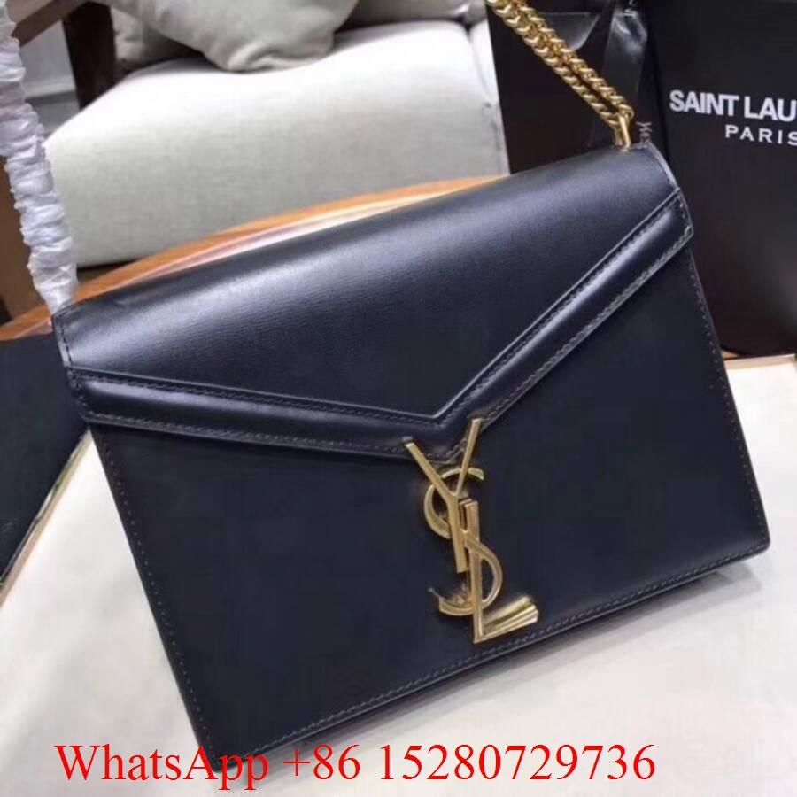 Women Yves Saint Laurent YSL Monogramme Medium Chain bag YSL Tassel shoulder bag