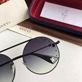 Gucci Frame Metal Sunglasses Gucci Square Bee logo Acetate sunglasses GG Logo