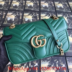 2019 Women Gucci handbags Gucci GG Marmont Medium matelassé shoulder bag on sale