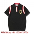 Wholesale New men's Gucci T-shirts Gucci Polo T-shirts Gucci jumper cotto