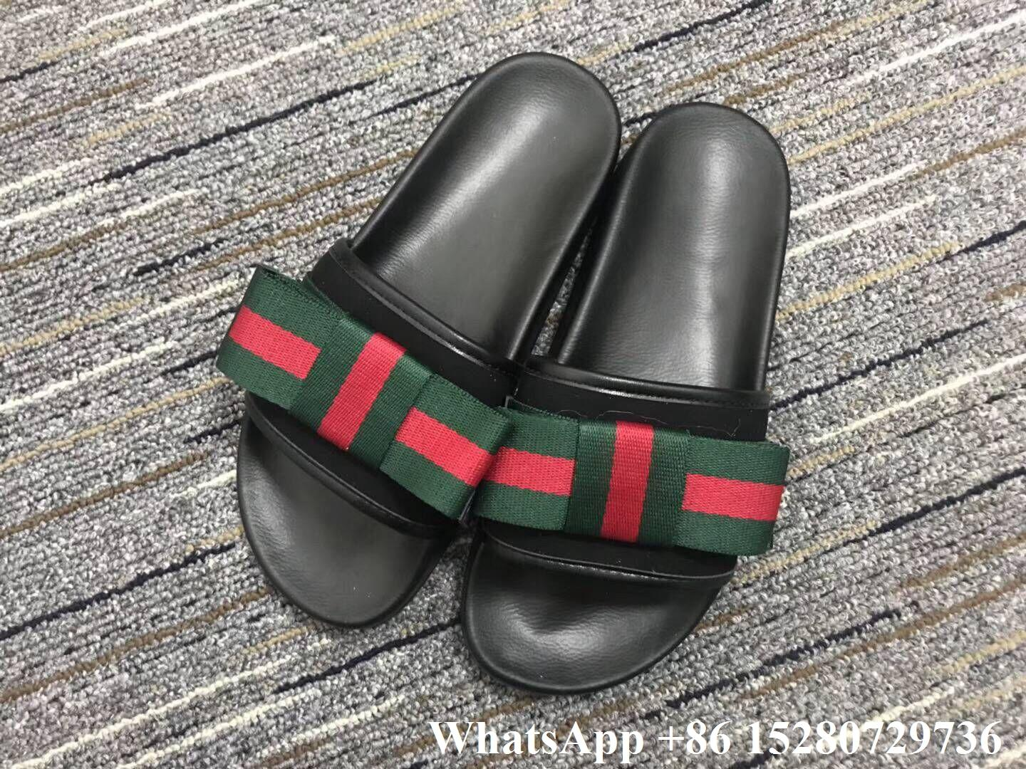 00d0b35e1c1 Gucci Slide Sandal Men s Gucci Pursuit Web Rubber Slide Gucci Logo Sylvie  slide ...