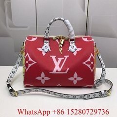 NEW Louis Vuitton Speedy 30 Bandouliere Monogram Giant Neverfull Metis handbag