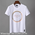 Fendi T-shirts Fendi Logo T-shirts Fendi Mania Stripe T-shirts men's Fendi tops