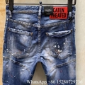 New Dsquared2 DSQ jeans Men's Blue Denim jeans on sale cheap jeans discount