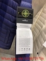 Stone Island Black Down Padded Jacket Mens Stone Island Light down jacket