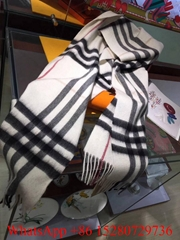 Wholesale Top quality Burberry Check Cashmere scarf Classic wool scarf gift Sale