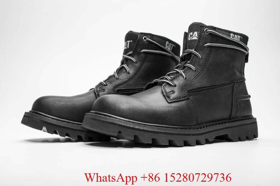 Caterpillar Sire Waterproof boot Men's CAT boots casual shoes safety shoes brown 3
